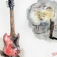 真夜中のギター