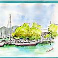 近江八幡の港