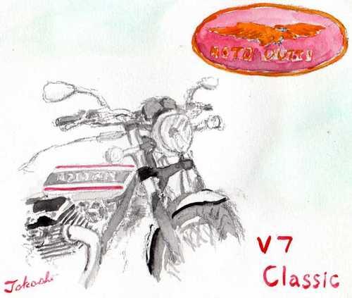 モトグッチ V7 クラシック