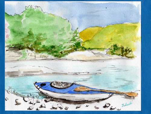 熊野とカヌー
