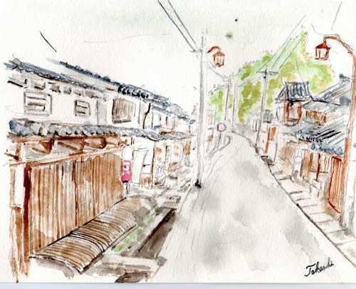 大宇陀の旧市街