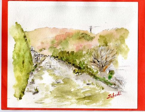 冬の摂津峡